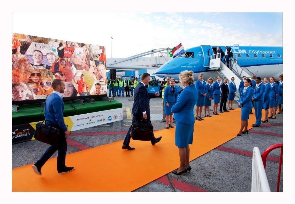 KLM oranje elftal - Oranjeloper - Zwartgroen.nl