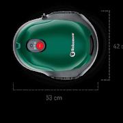 Robomow RX-model – robotmaaier met afmetingen