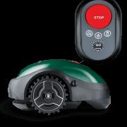 Robomow RX-model – robotmaaier met start-knop