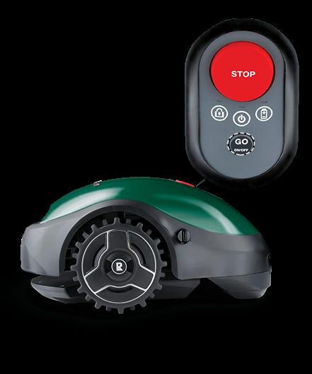 Robomow RX-model - robotmaaier met start-knop