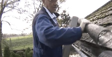 Gootdrain installeren in de dakgoot