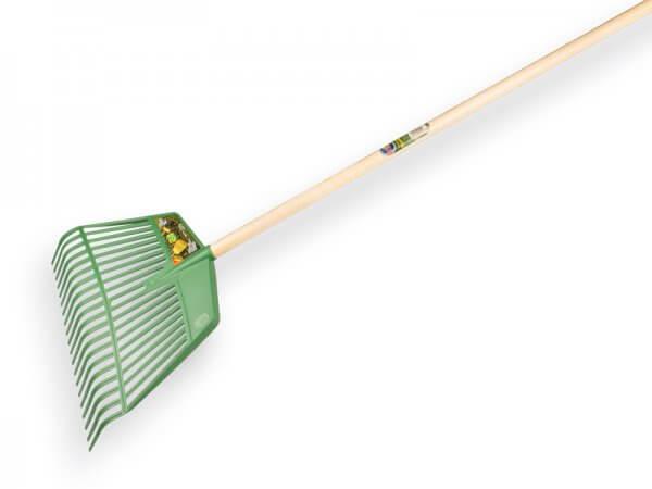 combibladhark-rega-jost-bladbezem-laadvork-20-tands-groen-45-cm-breed-met-ikapÉ-steel-150-x-2-8-cm