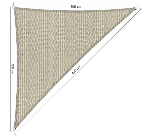 driehoek-300x300x420cm-Sahara Sand