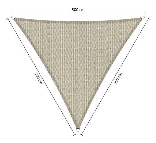 driehoek-500x500x500cm-Sahara Sand